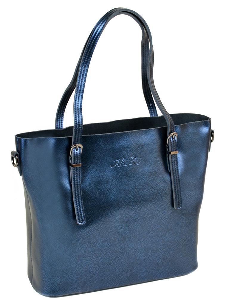 Сумка Женская Классическая кожа ALEX RAI 10-04 8603 bright-blue