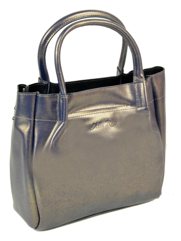 Сумка Женская Классическая кожа ALEX RAI 10-04 8903 bright-grey