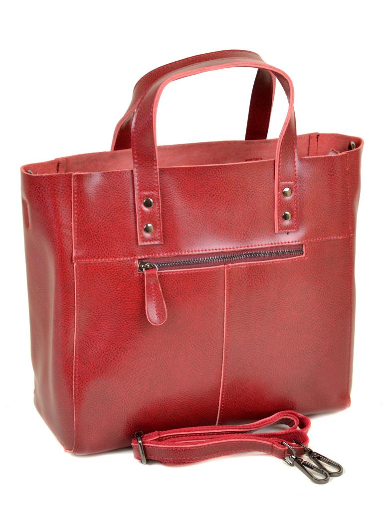 Сумка Женская Классическая кожа ALEX RAI 10-04 8713 colored-red