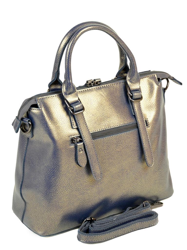 Сумка Женская Классическая кожа ALEX RAI 10-04 330 pearlscent-grey-gold - фото 4