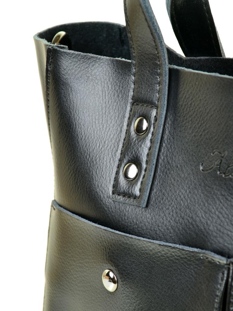 Сумка Женская Классическая кожа ALEX RAI 10-04 8713 black
