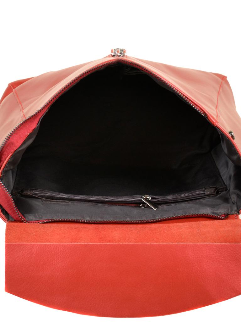 Сумка Женская Рюкзак кожа ALEX RAI 10-04 3206 bright-red