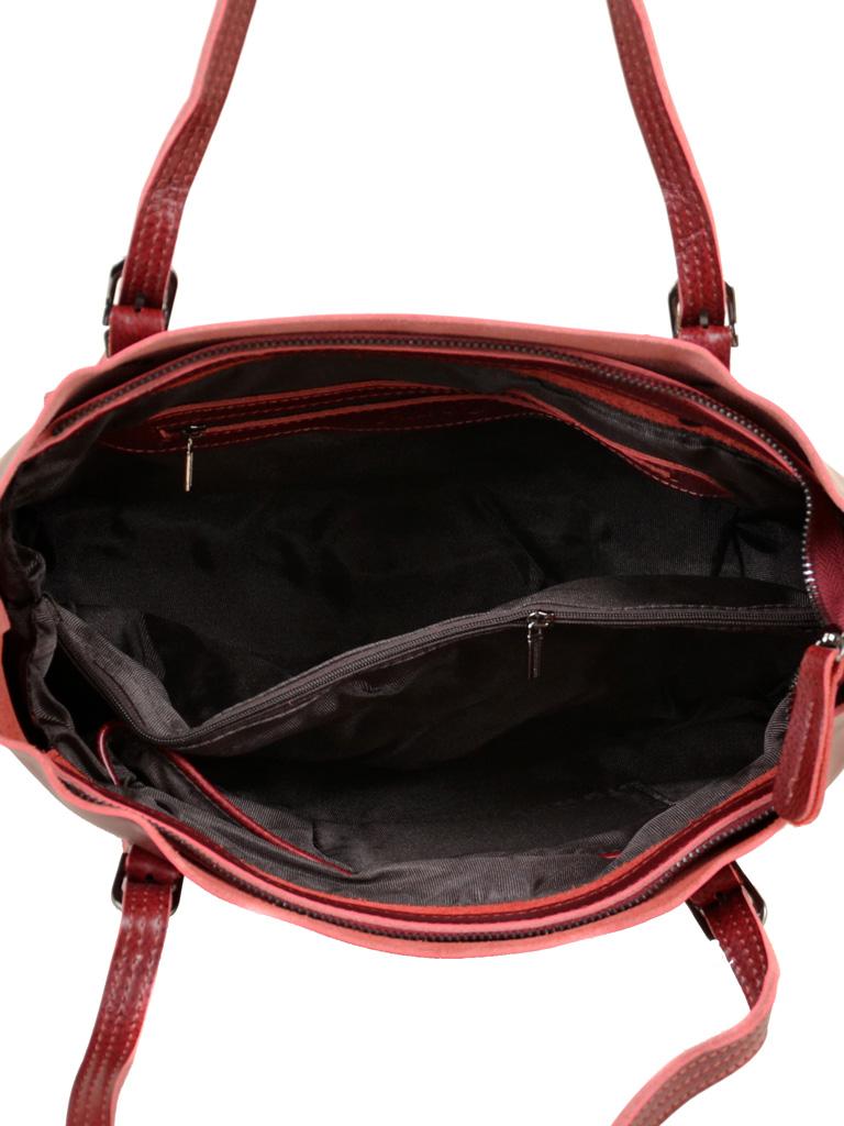 Сумка Женская Классическая кожа ALEX RAI 10-04 8603 bright-red - фото 5