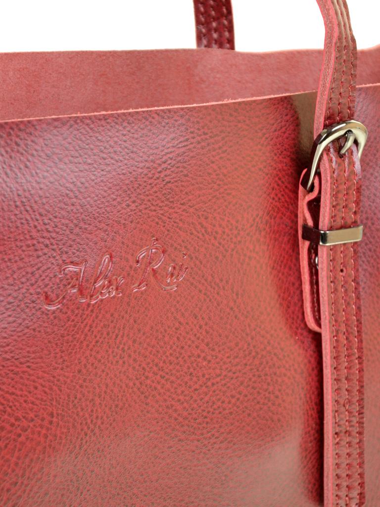 Сумка Женская Классическая кожа ALEX RAI 10-04 8603 bright-red - фото 3