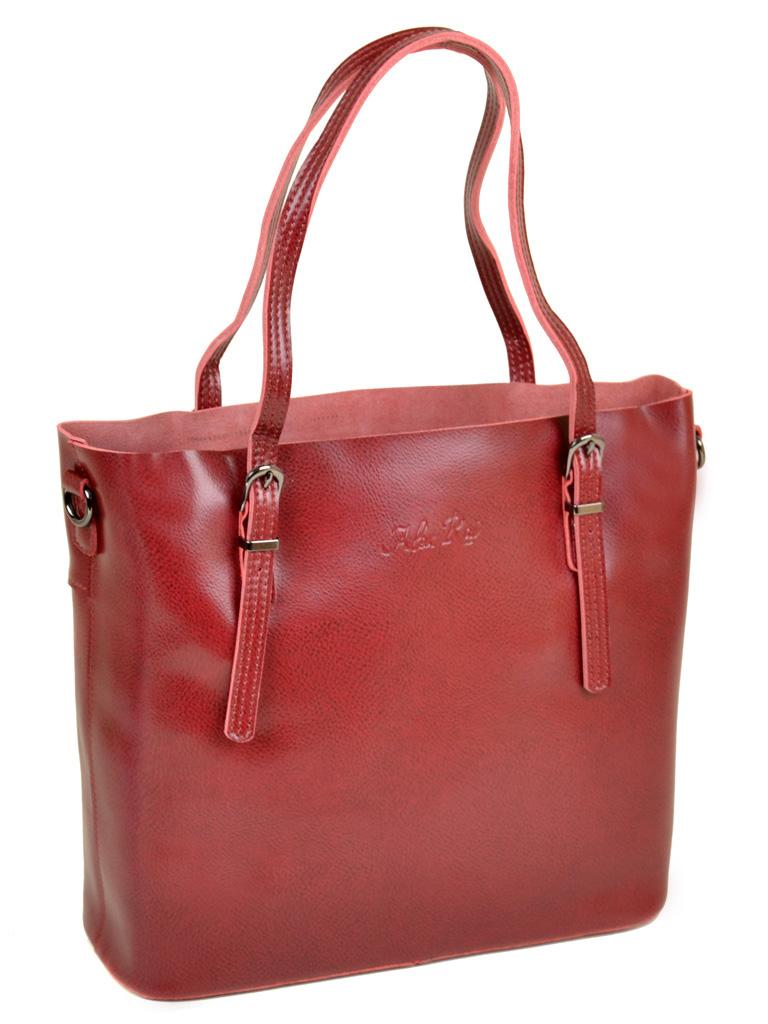 Сумка Женская Классическая кожа ALEX RAI 10-04 8603 bright-red