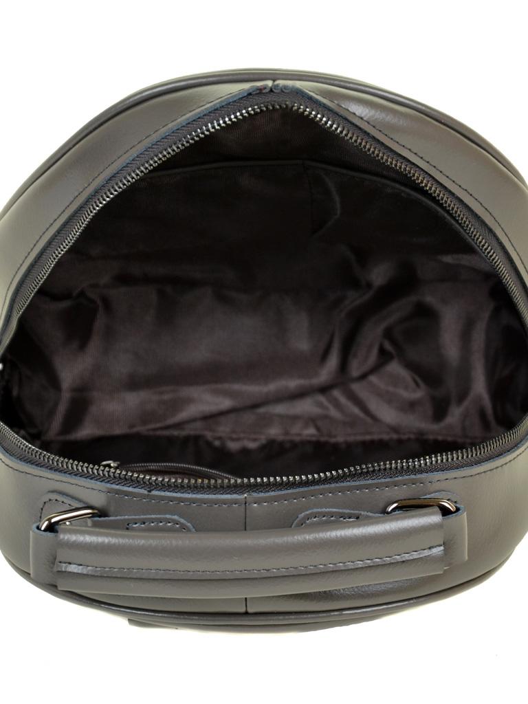Сумка Женская Рюкзак кожа ALEX RAI 10-04 8715 grey