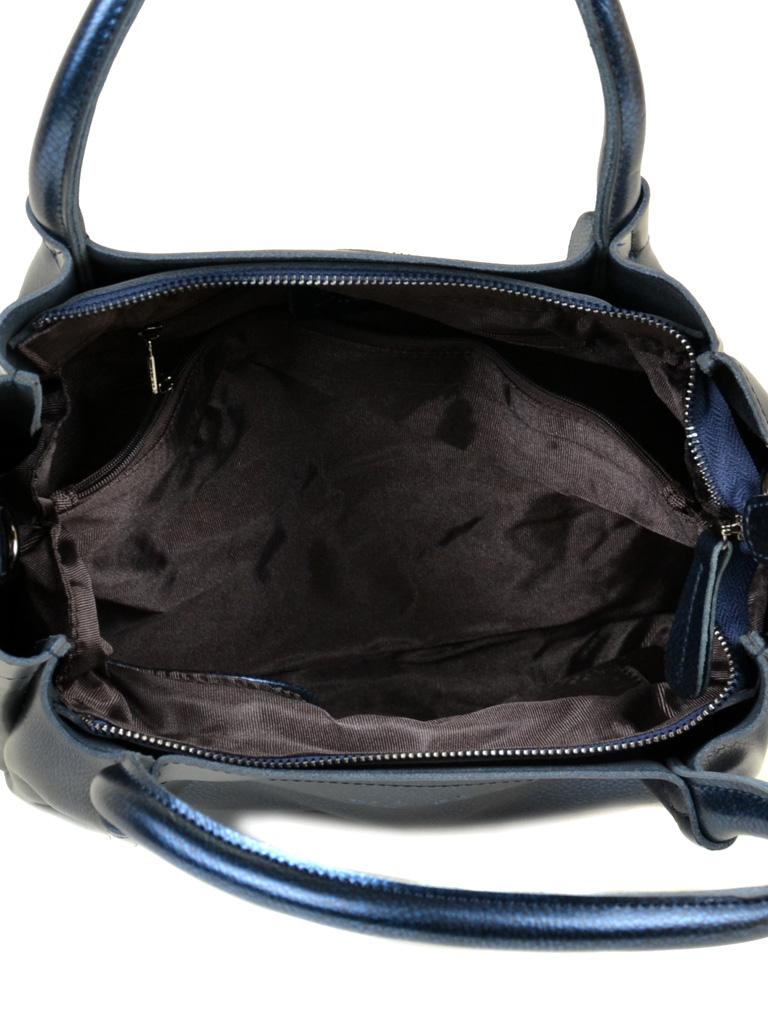 Сумка Женская Классическая кожа ALEX RAI 10-04 8903 bright-blue - фото 5