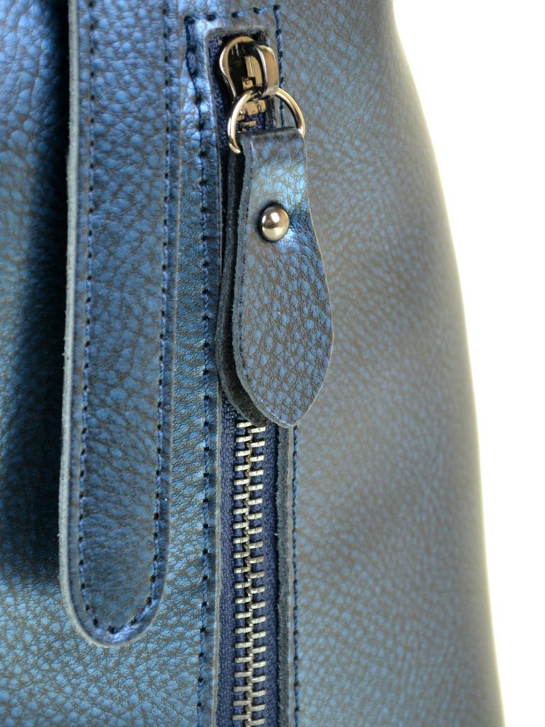 Сумка Женская Классическая кожа ALEX RAI 10-04 330 chromatic-blue - фото 3