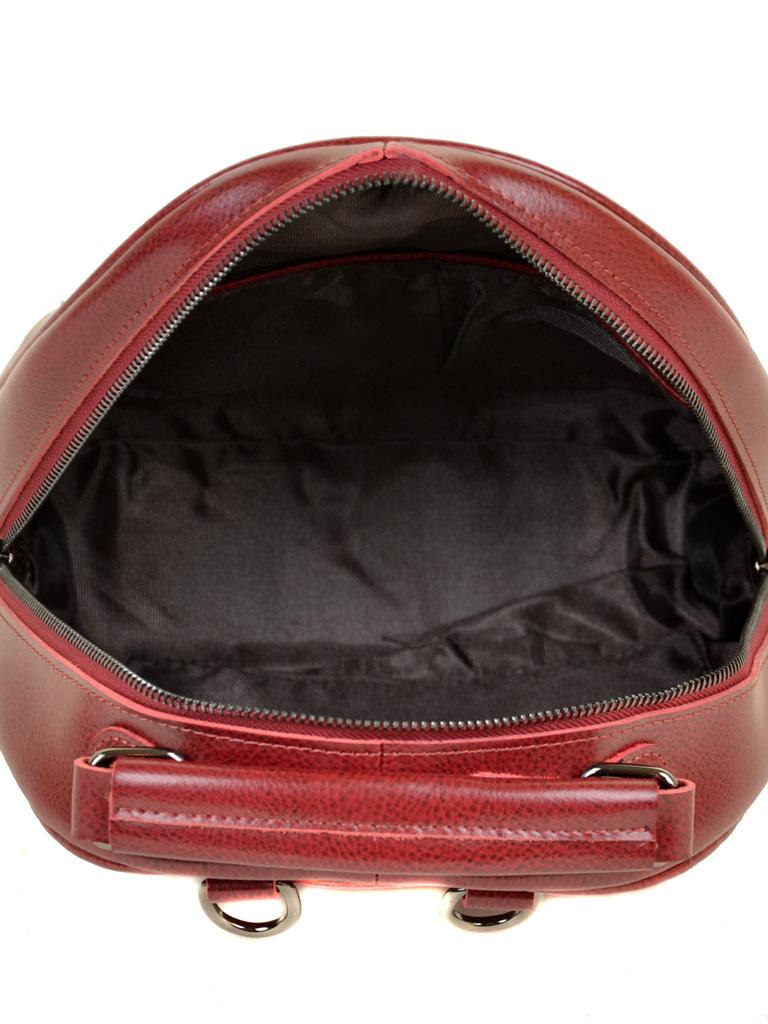 Сумка Женская Рюкзак кожа ALEX RAI 10-04 8715 bright-red - фото 5