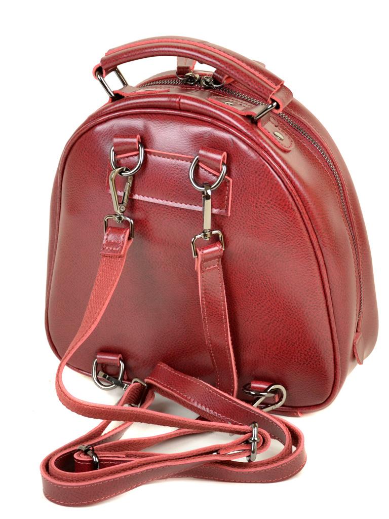 Сумка Женская Рюкзак кожа ALEX RAI 10-04 8715 bright-red - фото 4