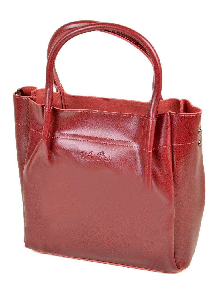 Сумка Женская Классическая кожа ALEX RAI 10-04 8903 bright-red