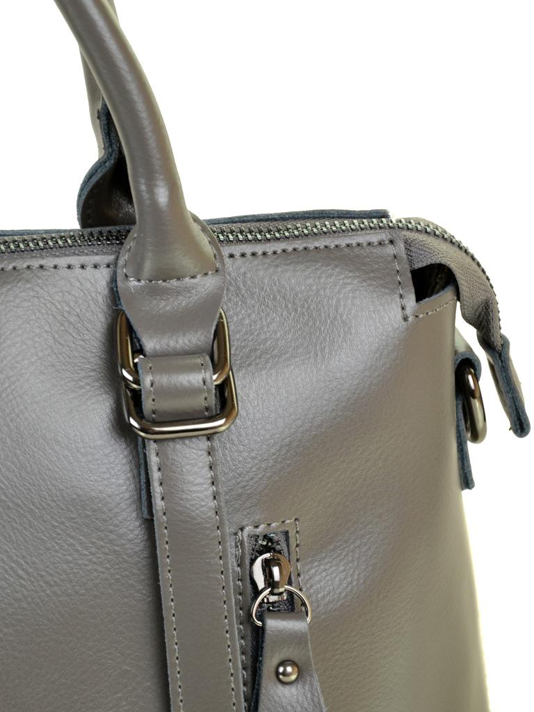 Сумка Женская Классическая кожа ALEX RAI 10-04 330 grey - фото 3