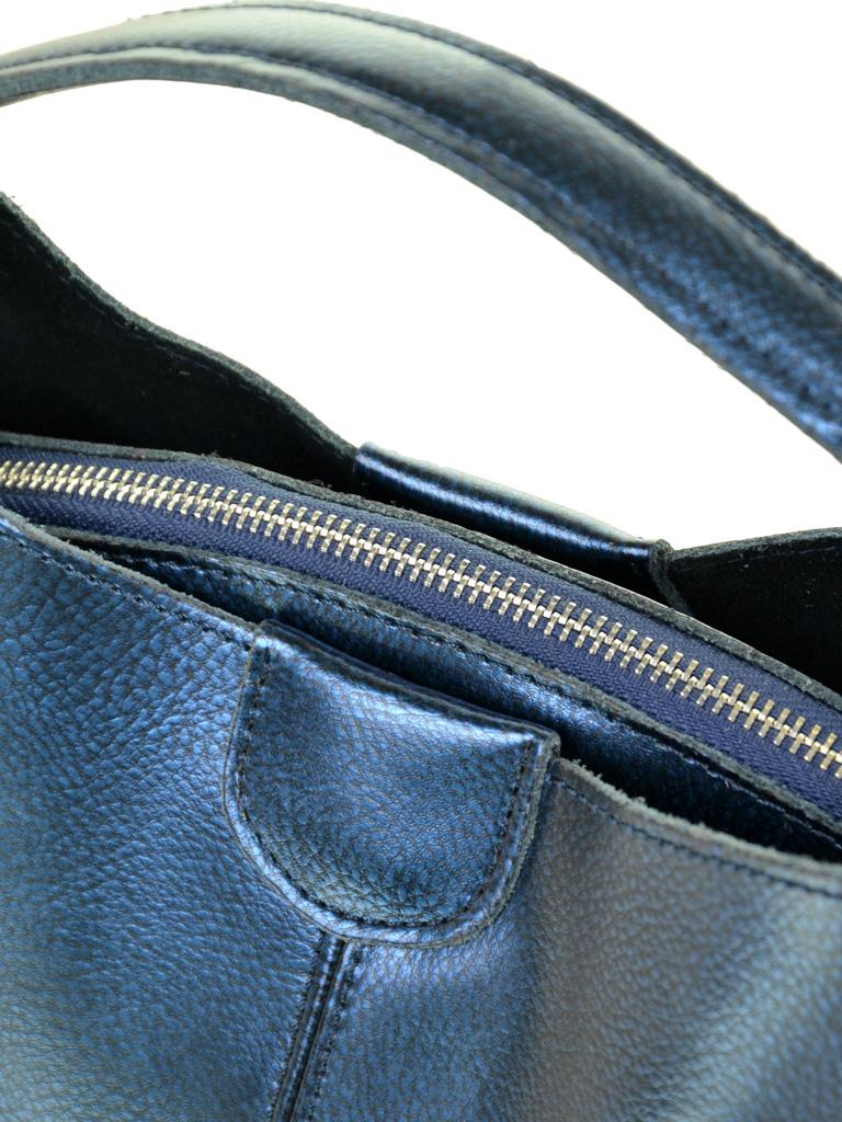 Сумка Женская Классическая кожа ALEX RAI 10-04 1383 blue - фото 3
