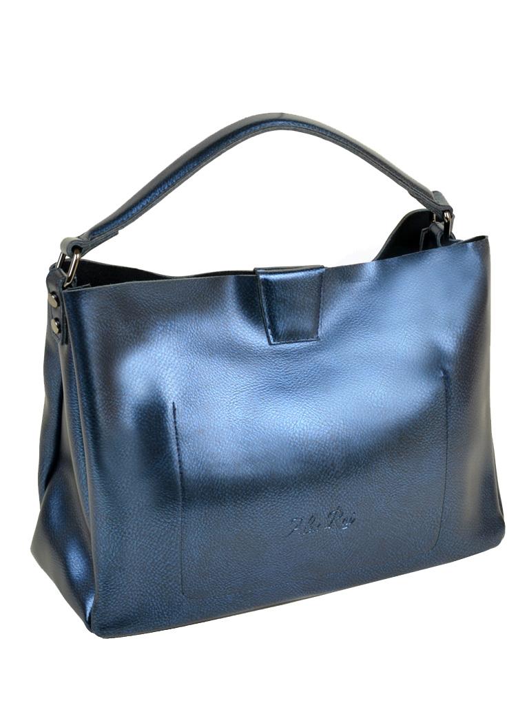 Сумка Женская Классическая кожа ALEX RAI 10-04 1384 bright-blue