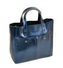 Сумка Женская Классическая кожа ALEX RAI 10-04 8713 chromatic-blue