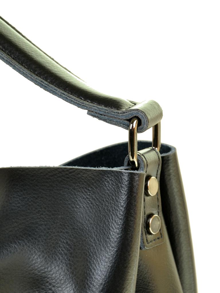 Сумка Женская Классическая кожа ALEX RAI 10-04 1384 black - фото 3