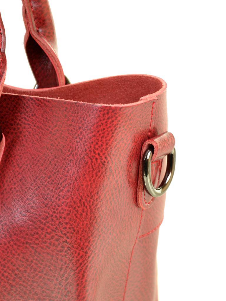 Сумка Женская Классическая кожа ALEX RAI 10-04 8222 colored-red