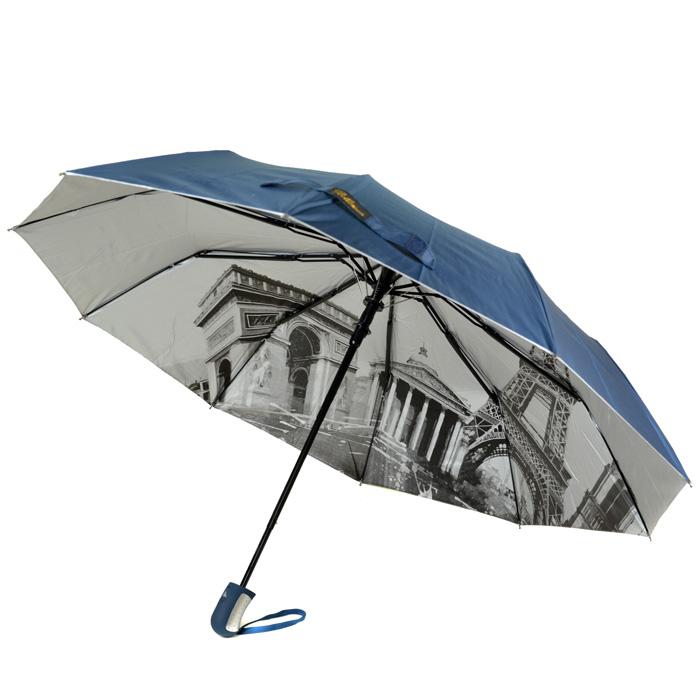 Зонт Полуавтомат Женский полиэстер 18313-7 - фото 3