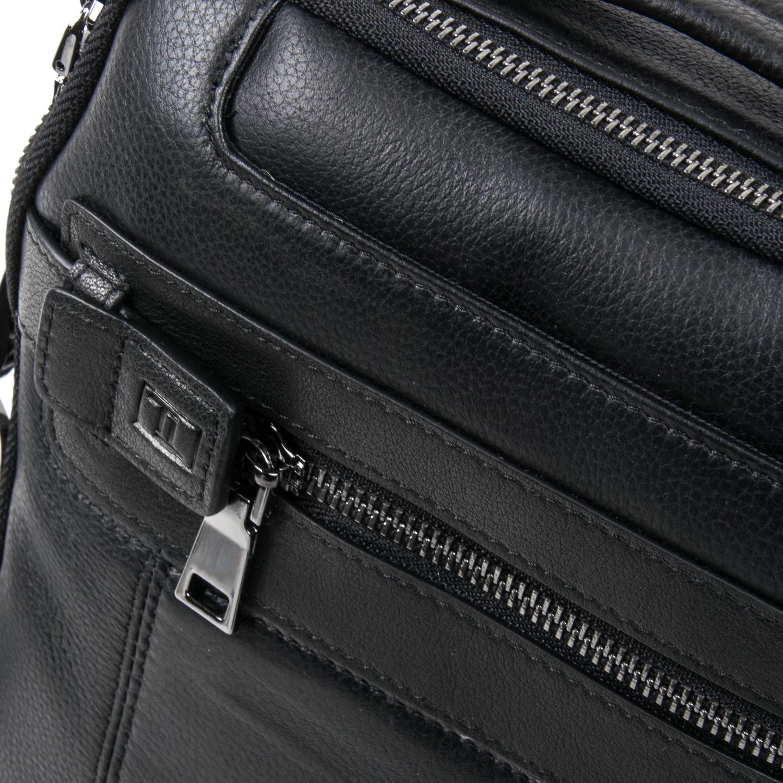 Сумка Мужская Планшет кожаный BRETTON BE 5408-3 black - фото 3