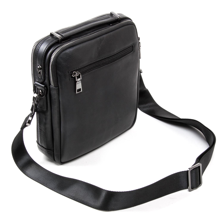 Сумка Мужская Планшет кожаный BRETTON BE 5408-3 black - фото 4