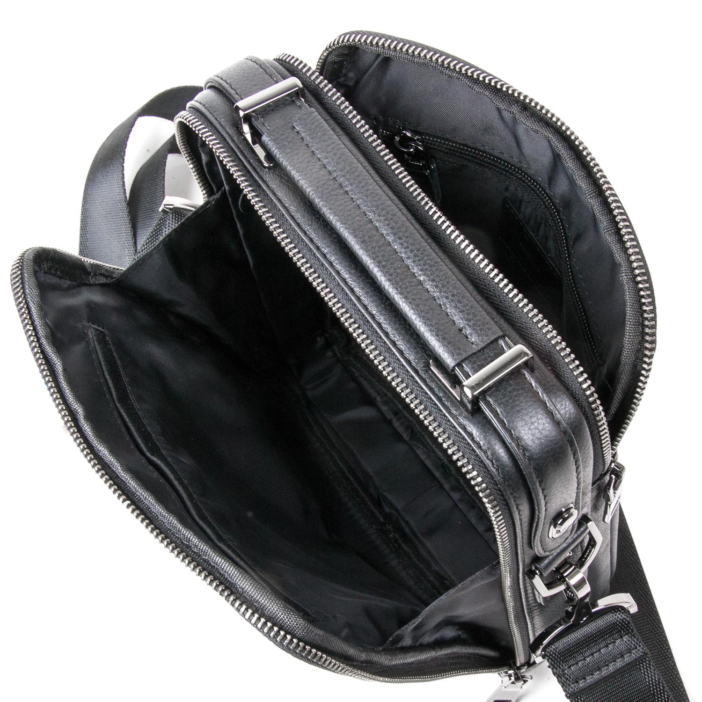 Сумка Мужская Планшет кожаный BRETTON BE 5408-3 black - фото 5