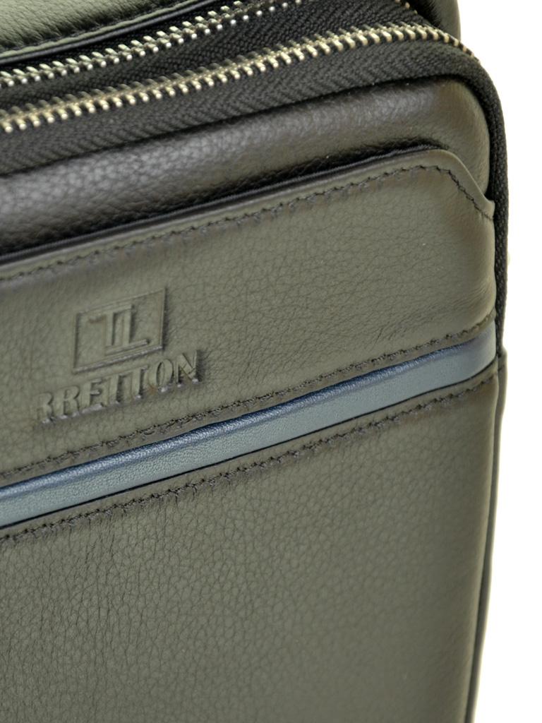 Сумка Мужская Планшет кожаный BRETTON BE 407-41 black - фото 3