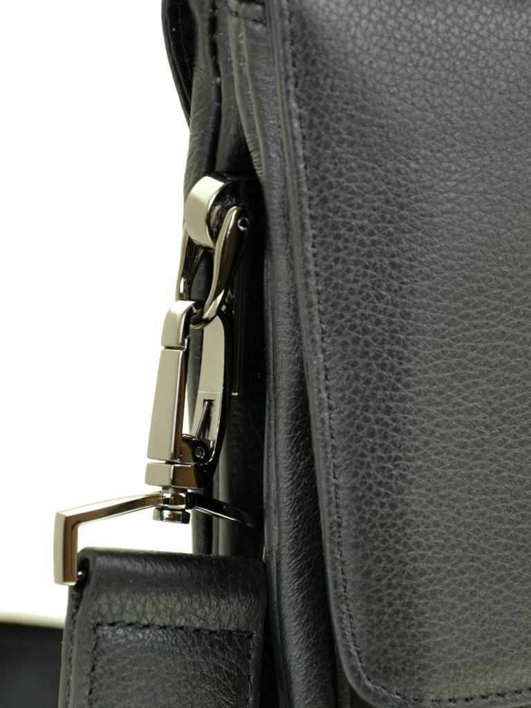 Сумка Мужская Планшет кожаный BRETTON BE 5387-4 black - фото 3