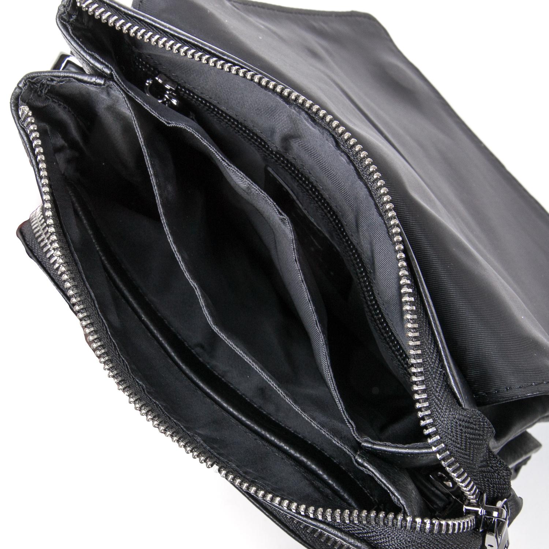 Сумка Мужская Планшет кожаный BRETTON BE 5387-4 black - фото 5