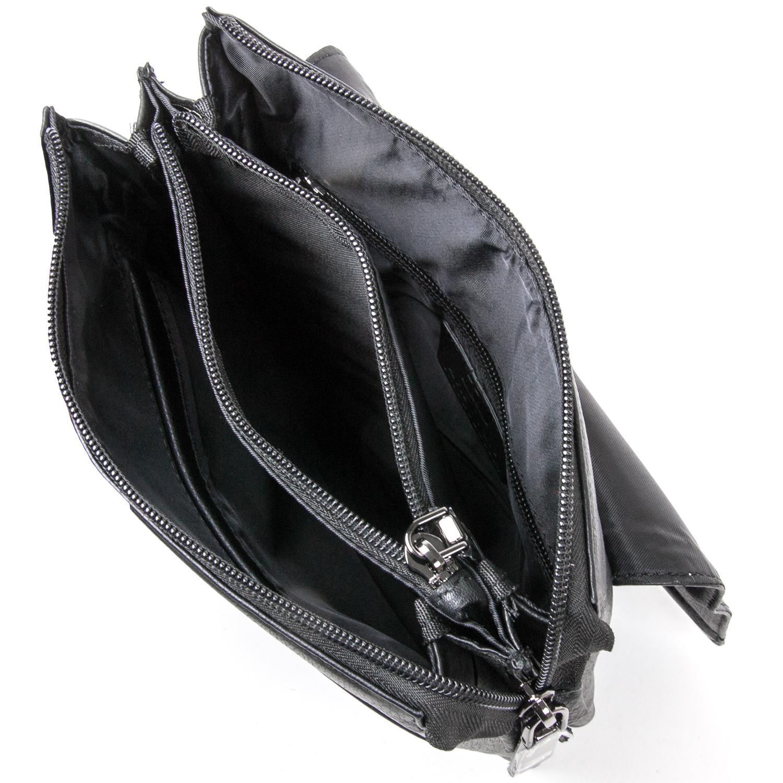 Сумка Мужская Планшет кожаный BRETTON BE 5416-4 black - фото 5