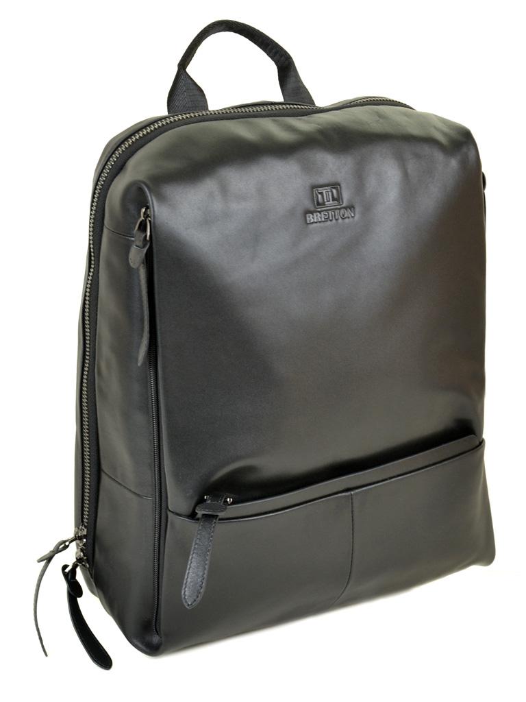 Рюкзак Городской кожаный BRETTON BE 2004-5 black