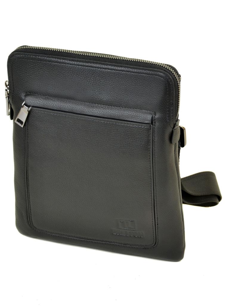 Сумка Мужская Планшет кожаный BRETTON BE 3565-3 black