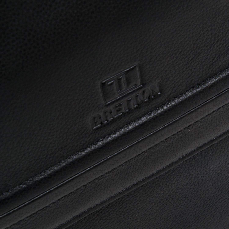 Сумка Мужская Планшет кожаный BRETTON BE 5416-3 black - фото 3