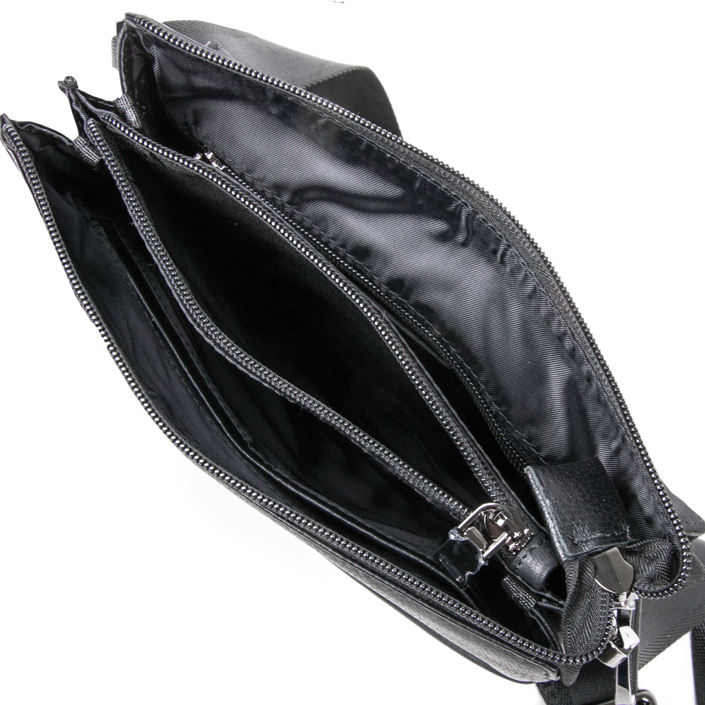 Сумка Мужская Планшет кожаный BRETTON BE 5416-3 black - фото 5