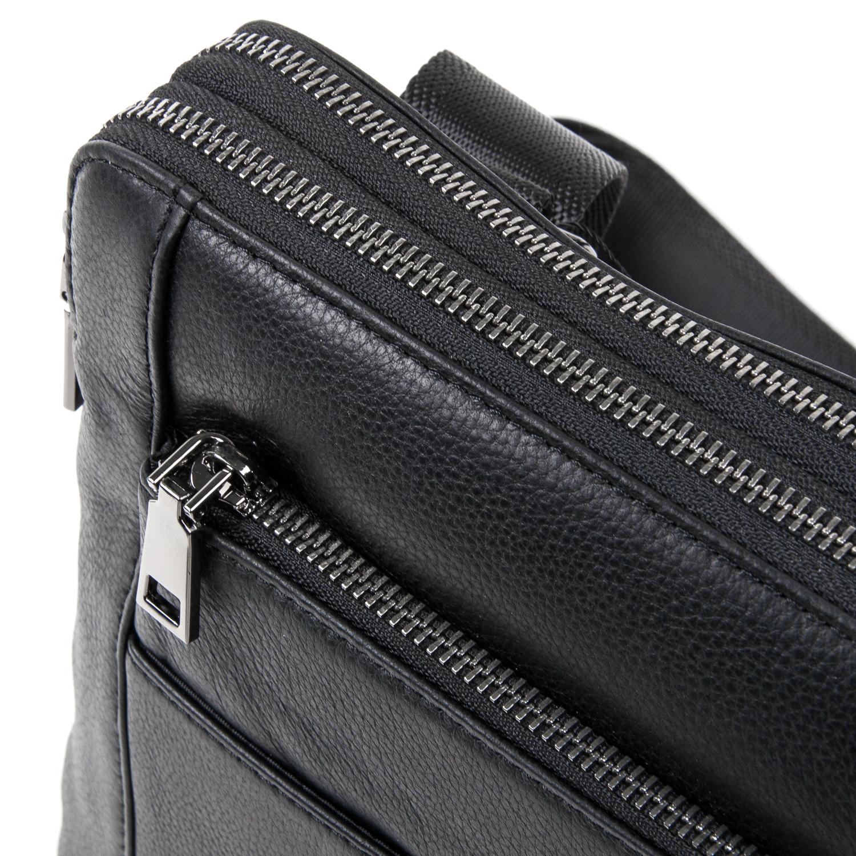 Сумка Мужская Планшет кожаный BRETTON BE 3563-3 black - фото 3