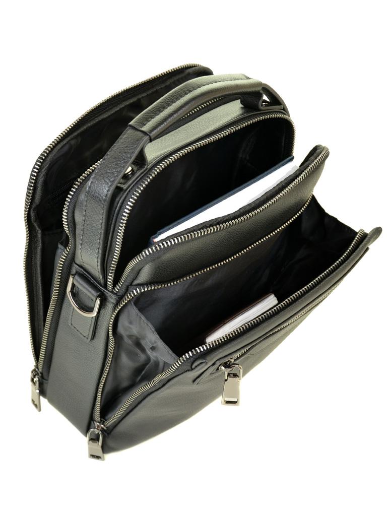 Сумка Мужская Планшет кожаный BRETTON BE 5313-4 black - фото 5