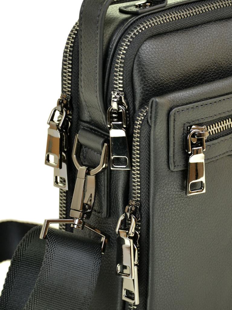 Сумка Мужская Планшет кожаный BRETTON BE 5313-4 black - фото 3