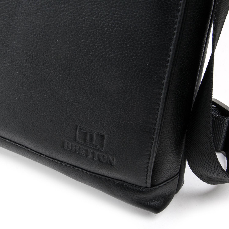 Сумка Мужская Планшет кожаный BRETTON BE 5446-3 black - фото 3