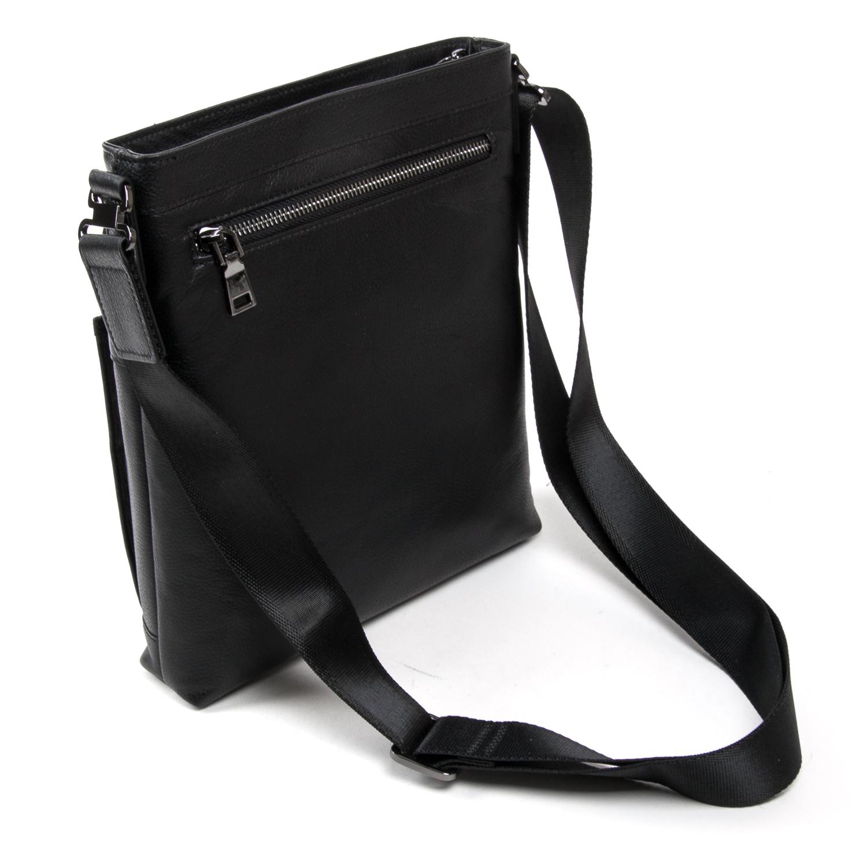 Сумка Мужская Планшет кожаный BRETTON BE 5446-3 black - фото 4
