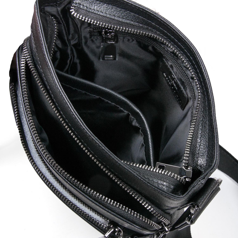 Сумка Мужская Планшет кожаный BRETTON BE 5446-3 black - фото 5