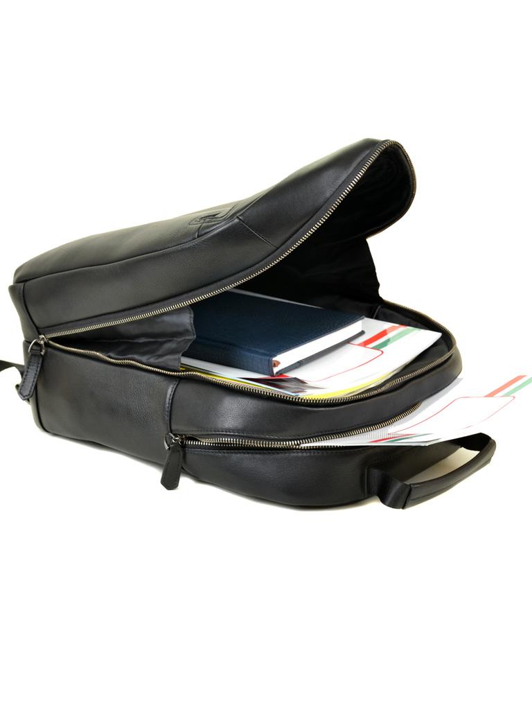 Рюкзак Городской кожаный BRETTON BE 8003-73 black - фото 5