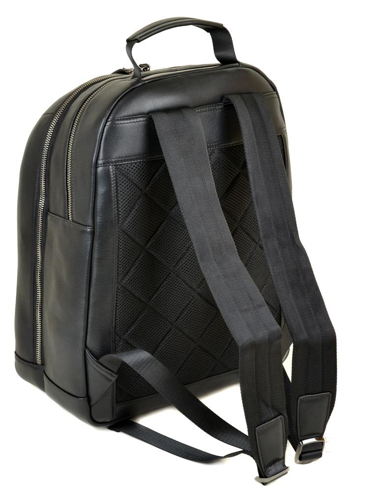 Рюкзак Городской кожаный BRETTON BE 8003-73 black - фото 4