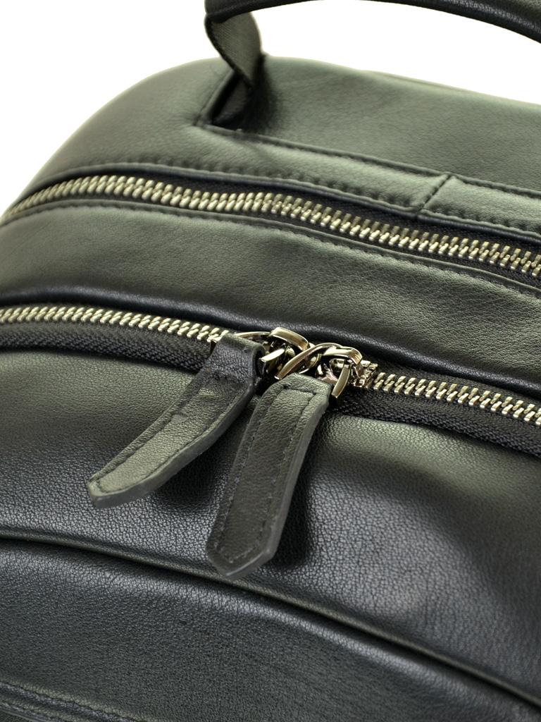 Рюкзак Городской кожаный BRETTON BE 8003-73 black - фото 3