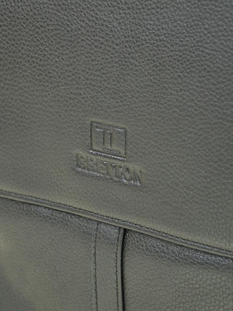 Сумка Мужская Планшет кожаный BRETTON BE 5387-3 black - фото 3
