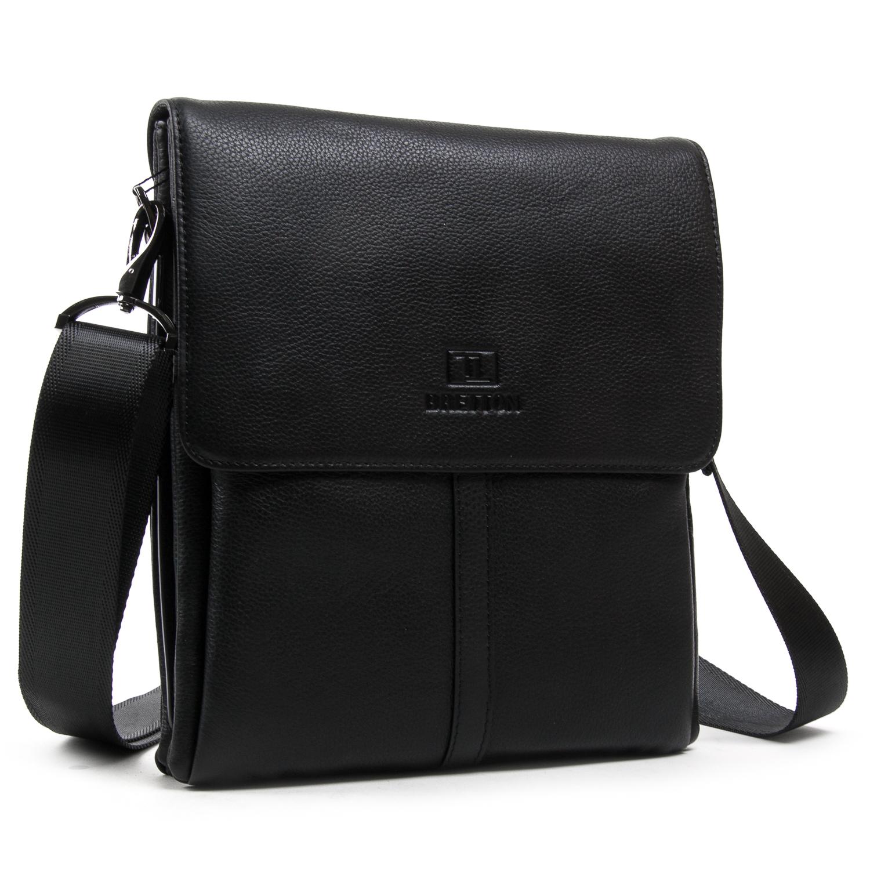 Сумка Мужская Планшет кожаный BRETTON BE 5387-3 black