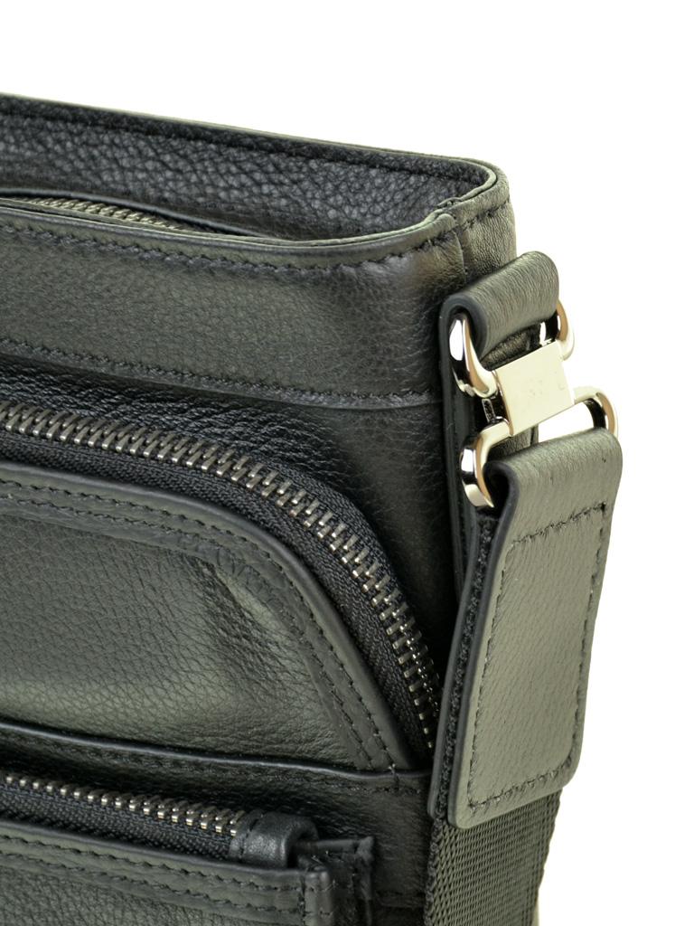 Сумка Мужская Планшет кожаный BRETTON BE 5446-4 black - фото 3