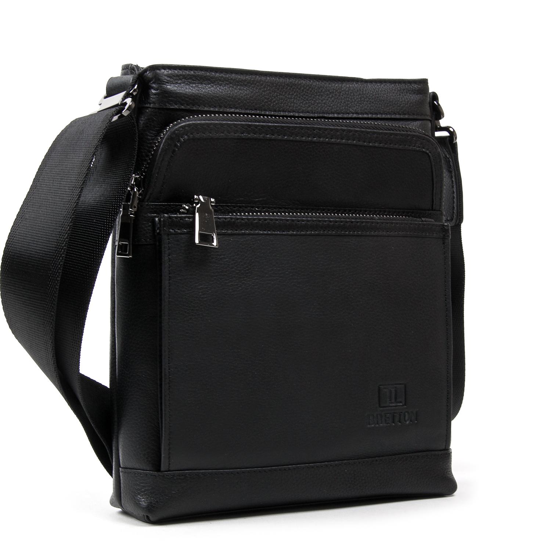 Сумка Мужская Планшет кожаный BRETTON BE 5446-4 black