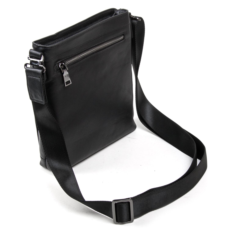 Сумка Мужская Планшет кожаный BRETTON BE 5446-4 black - фото 4