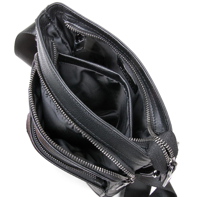 Сумка Мужская Планшет кожаный BRETTON BE 5446-4 black - фото 5