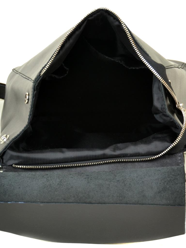 Сумка Женская Классическая замш М 156 black - фото 4