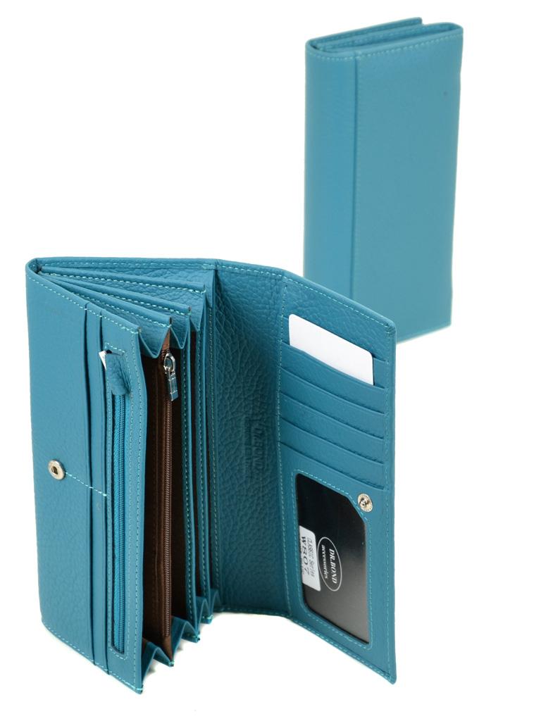 Кошелек Classic кожа DR. BOND W807 l-blue - фото 4